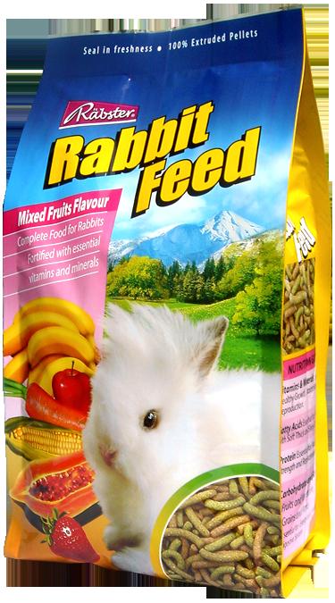 Rabster - แร็บสเตอร์ อาหารกระต่ายสำเร็จรูปสำหรับกระต่ายทุกพันธุ์ (750 กรัม)