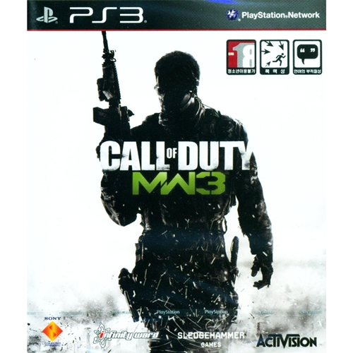 PS3: Call of Duty Modern Warfare 3 (Z3-Kor-Eng) [ส่งฟรี EMS]