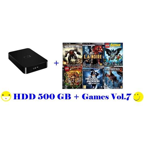 External HDD 500GB + Games PS3 Vol.7 (CFW3.55+) [ส่งฟรี EMS]