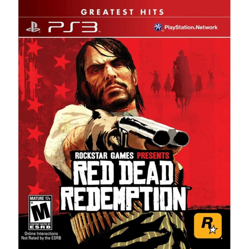PS3: Red Dead Redemption - Greatest Hits (Z1) [ส่งฟรี EMS]