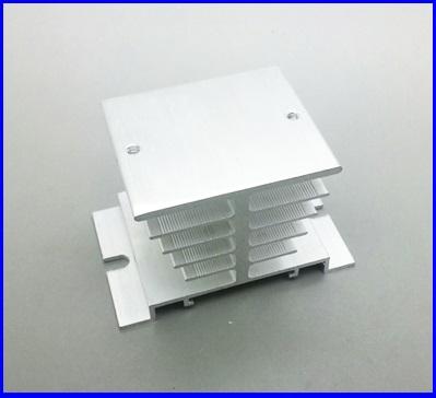 ฮีทซิงค์ อลูมิเนียมระบายความร้อน สำหรับโซลิดสเตทรีเลย์ Aluminum Heat Sink for Solid State Relay SSR Small Type