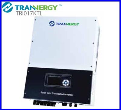 อินเวอร์เตอร์ โซล่าเซลล์ Trannergy On Grid-connected inverter 17kW (ยี่ห้อนี้สามารถนำไปขอใบรับรองจาก กฟภ. และ กฟน. โครงการ Solar Rooftop ได้)