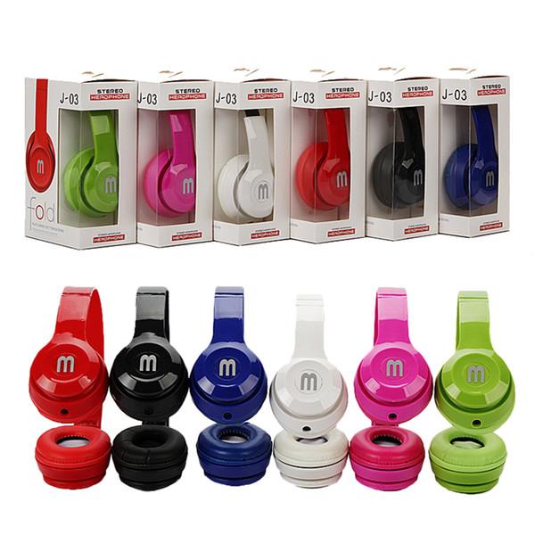 หูฟังแบบครอบหู Fold HeadPhone J-03