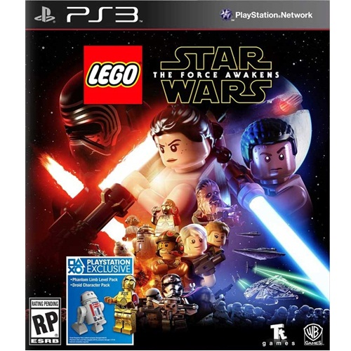 PS3: LEGO Star Wars The Force Awakens (Z3) [ส่งฟรี EMS]