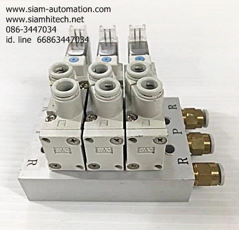 SYJ5120-5MZ-C6 SMC Solenoid Valve (used)
