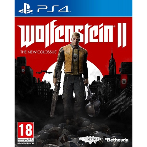 PS4: Wolfenstein II : The New Colossus (Z2) [ส่งฟรี EMS]
