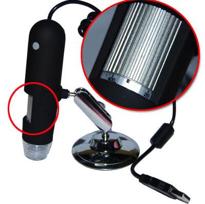 กล้อง ไมโครสโคป 400X USB Digital Microscope with Measurement 1.3M กล้องไมโครสโคป อัตราขยาย 400 เท่า