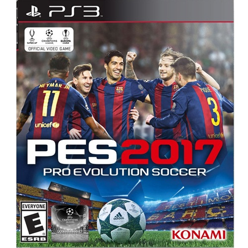 PS3: PES - Pro Evolution Soccer 2017 (Z1) [ส่งฟรี EMS]