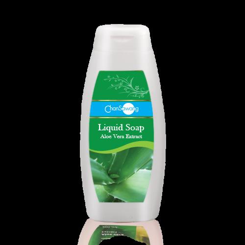 สบู่เหลวสูตรว่านหางจระเข้ (Aloe Vera Liquid Soap)