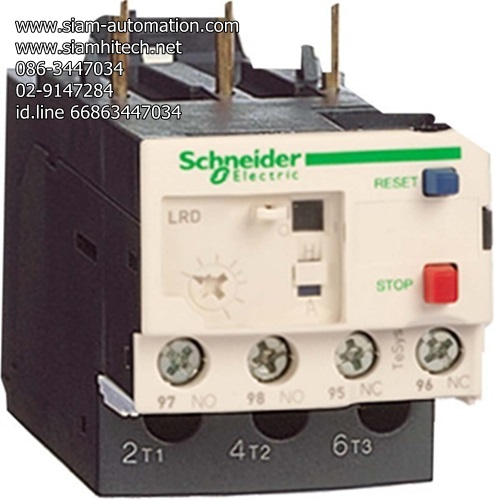 Schneider Telemecanique Thermal overload relays LRD35 (NEW)
