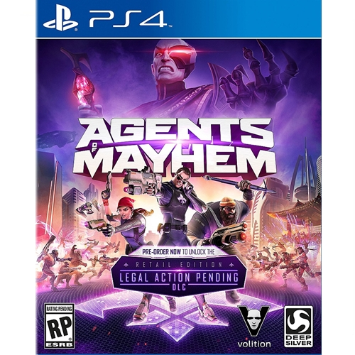 PS4: Agents of Mayhem (Z3) [ส่งฟรี EMS]