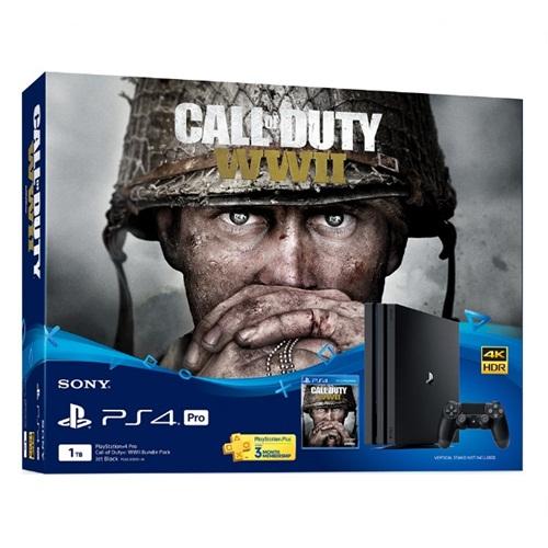 PS4: Console 1TB / Call of Duty WWII Bundle Pack (ประกันศูนย์ฯ 2 ปี) [ส่งฟรี EMS]