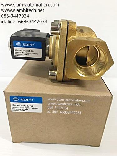 2w400-40 24v/220v โซลินอยด์วาล์ว SDPC