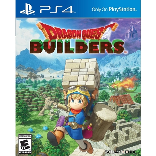 PS4: Dragon Quest Builders (Z3) - Eng [ส่งฟรี EMS]