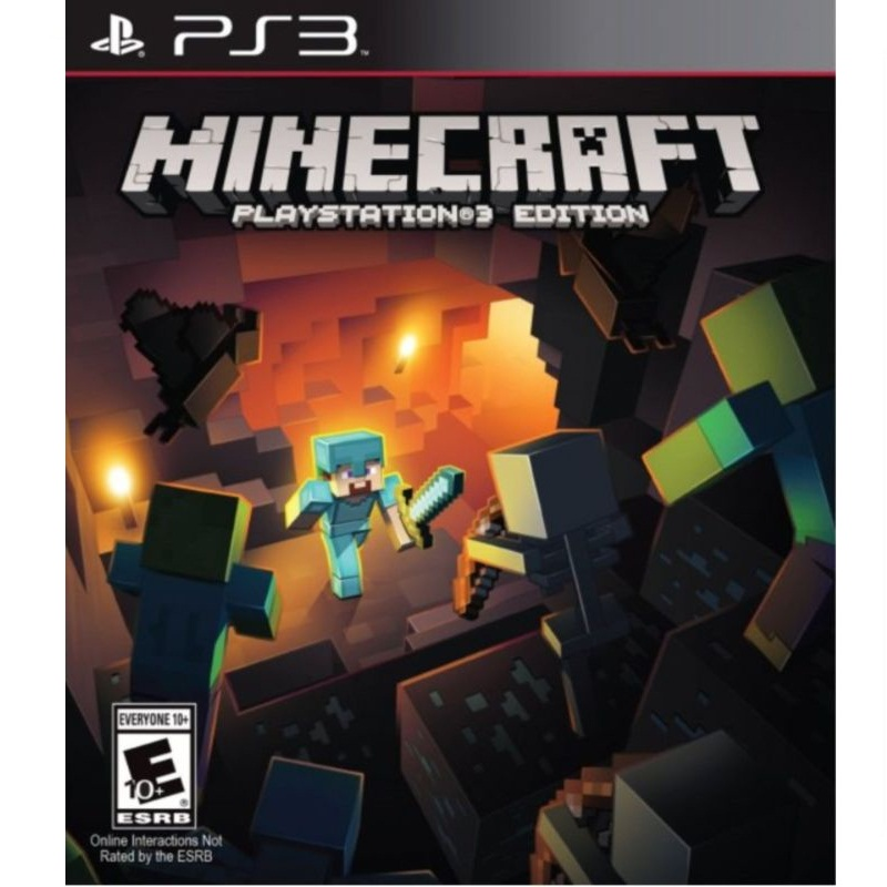 PS3: Minecraft Playstation 3 Edition (Z All) [ส่งฟรี EMS]