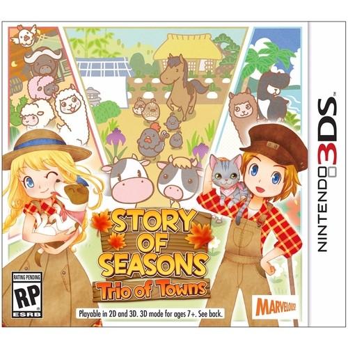 3DS: Story of Seasons : Trio of Towns (US) [ส่งฟรี EMS]