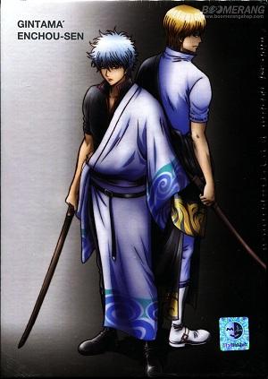 Gintama Part 6 / กินทามะ ปี 6 / 4 แผ่น DVD (พากย์ไทย+บรรยายไทย)