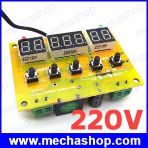 เทอร์โมสตัท เครื่องควบคุมอุณหภูมิ 220V LED Temperature Controller 10A Thermostat Control Switch +Probe