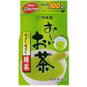 Itoen Green Tea 80g ชาเขียวผงญี่ปุ่น ชงได้ 100 แก้ว ชงน้ำร้อนและเย็น ผลิตจากใบชาญี่ปุ่นชั้นดี ดีต่อสุขภาพอุดมไปด้วยสารต้านอนุมูลอิสระค่ะ