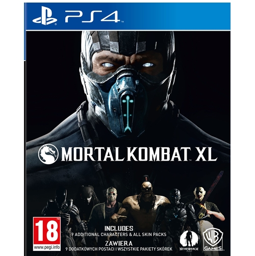 PS4 : Mortal Kombat XL (Z-3) [ส่งฟรี EMS]