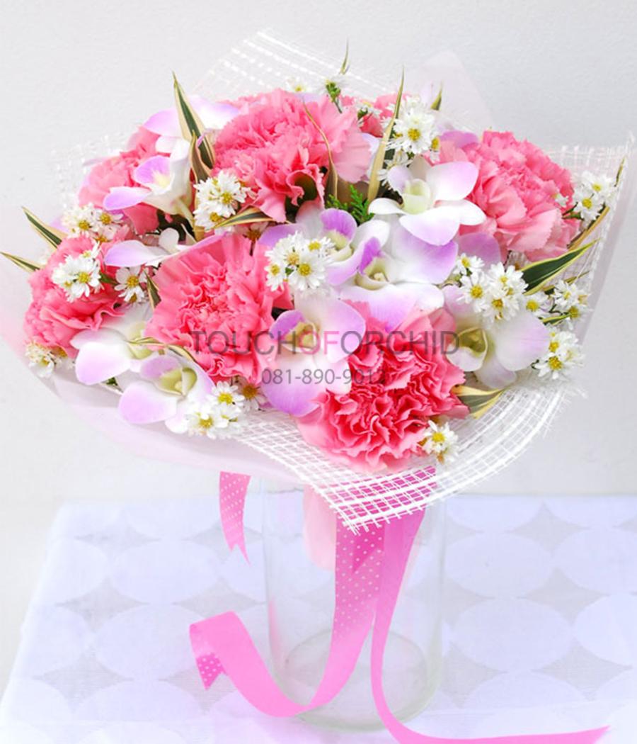 ช่อดอกไม้ Little Pink