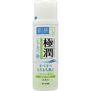 Hadalabo Hyaluron lotion 170 ml. โลชั่นน้ำตบบำรุงขวดขาว ช่วยเก็บกักความชุ่มชื่น และบำรุงผิวด้วยคุณค่าของ hyaluronic เข้มข้น ขายดีมากๆในและได้รับรางวัลจากนิตยสารมากมายในญี่ปุ่นค่ะ
