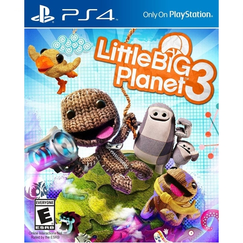PS4: Little Big Planet 3 (Z3) - Greatest Hits [ส่งฟรี EMS]