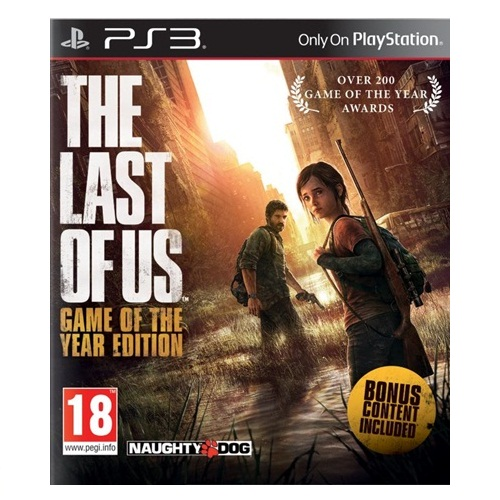 PS3: The Last of Us - Game of The Year Edition (Z3) [ส่งฟรี EMS]