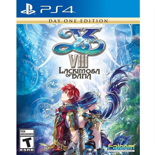PS4: Ys VIII: Lacrimosa of Dana - Day One Edition (Zone All) [ส่งฟรี EMS]