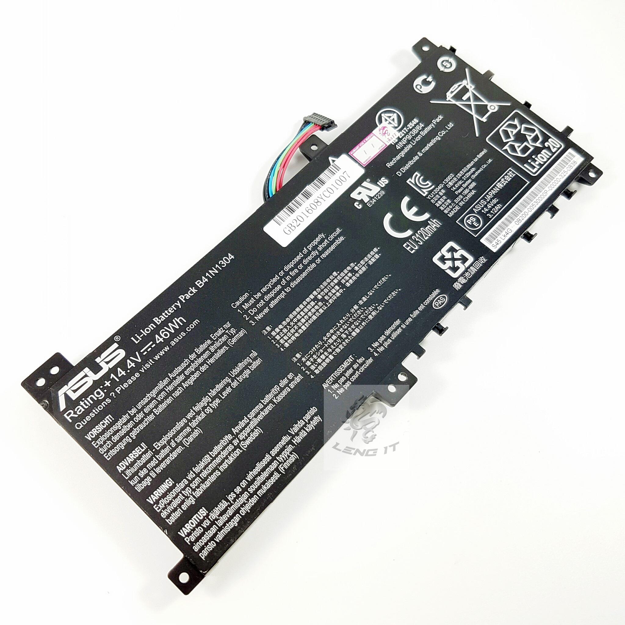 Battery, Asus B41N1304