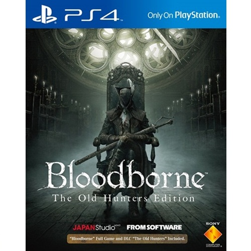 PS4: Bloodborne The Old Hunters Edition (Z3) [ส่งฟรี EMS]