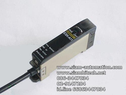 Photoelectric Sensor ยี่ห้อ Omron รุ่น E3X-NT21 (มือสอง)