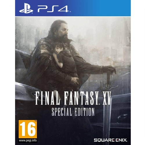 PS4: Final Fantasy XV - Steelbook Special Edition (ENG)