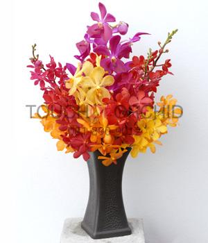 แจกันดอกไม้ Mokcara Fancy