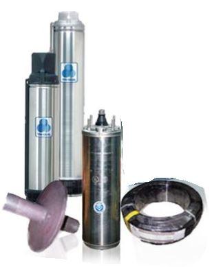 ปั๊มบาดาล ปั๊มซับเมอร์ส FRANKLIN 1.5 HP ไฟ 380 โวทล์