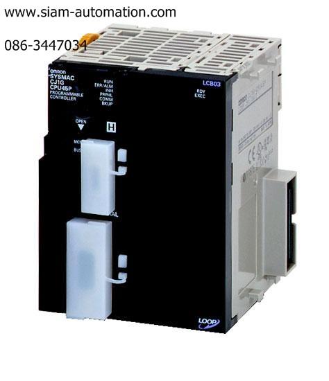 PLC ยี่ห้อOMRON รุ่นCJ1G-CPU42H/CJ1W-TER01 new&used