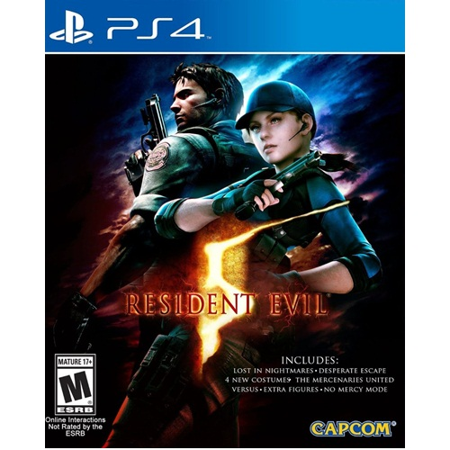 PS4: Resident Evil 5 (Z3) [ส่งฟรี EMS]