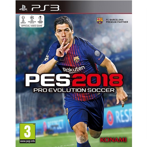 PS3: Pro Evolution Soccer 2018 [PES2018] (Z2) [ส่งฟรี EMS]