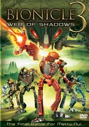 Bionicle 3: Web Of Shadows / ไบโอนิเคิล 3 ตอน ฝ่าเงาแห่งภัยพิบัติ / 1 แผ่น DVD (พากย์ไทย+บรรยายไทย)