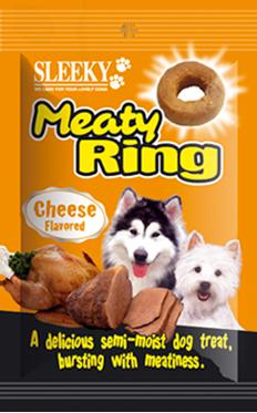 ขนมหมา SLEEKY มีทตี้ริง รสชีส - ขนมหมาทุกสายพันธุ์