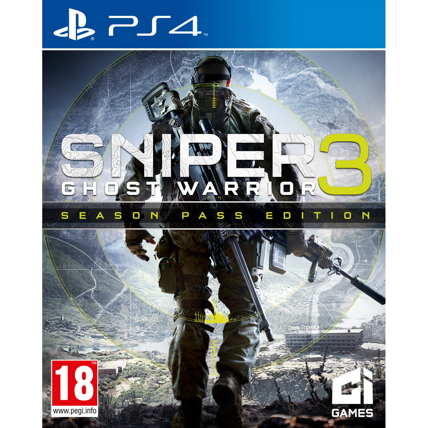 PS4: Sniper Ghost Warrios 3 - Season Pass Edition (Z3) [ส่งฟรี EMS]