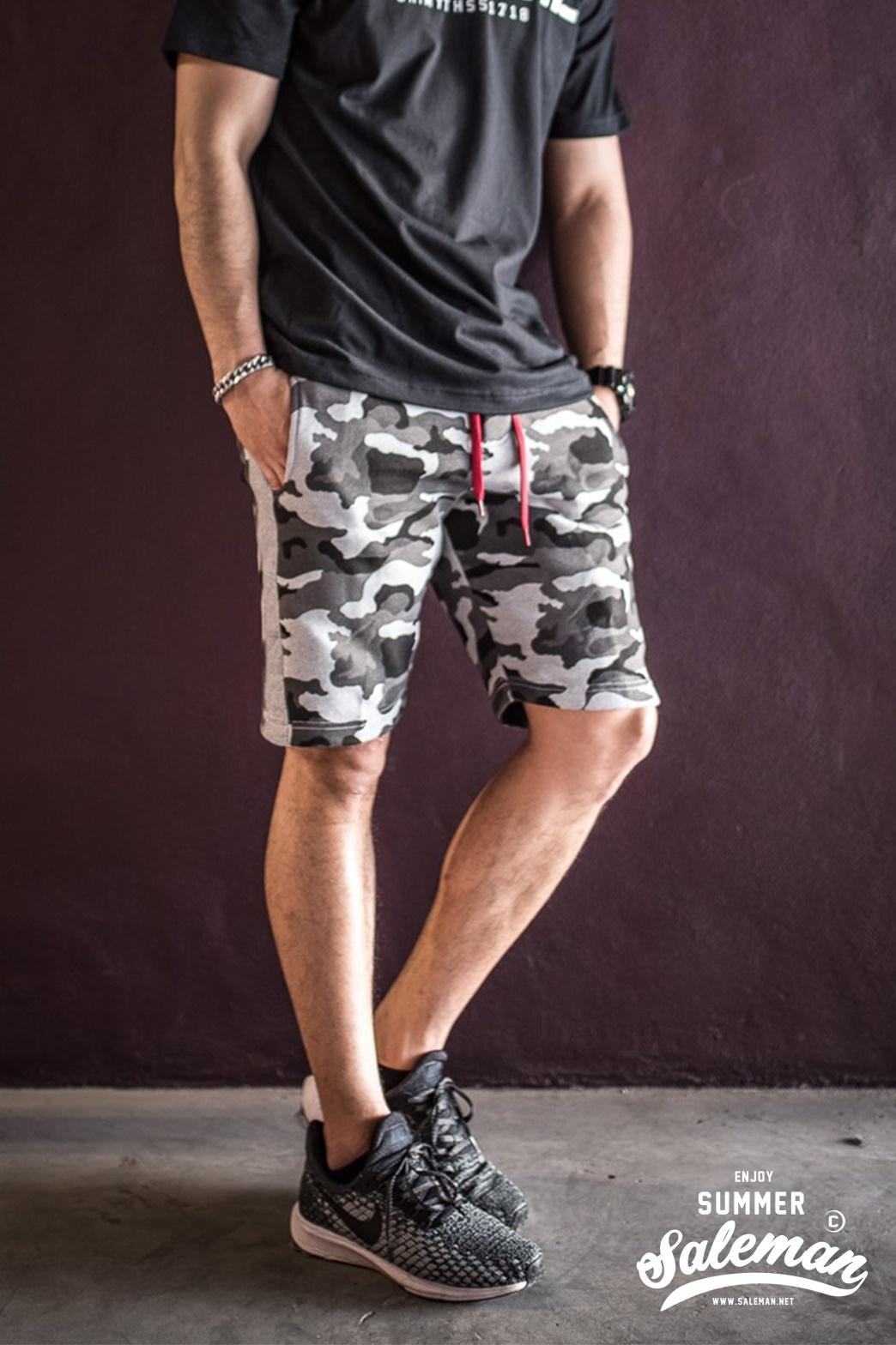 กางเกงขาสั้น พรีเมี่ยม ผ้า วอร์ม รหัส WT281 TAX Panther W เสือดำ SUMMER SALE