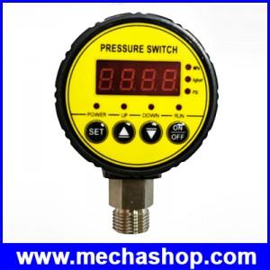 สวิตช์แรงดันลม มิเตอร์ควมคุมแรงดันลม Air Compressor Pressure Switch Digital Pressure Gauge 0-1.6Mpa AC 220V