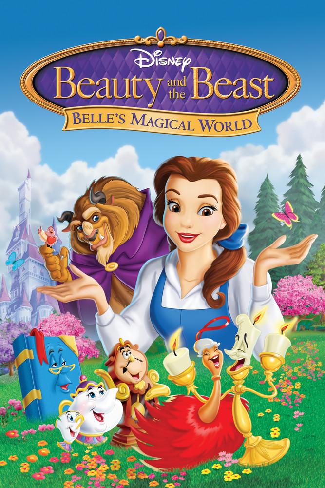 Beauty and the Beast: Belle's Magical World 1 แผ่น DVD พากย์ไทย