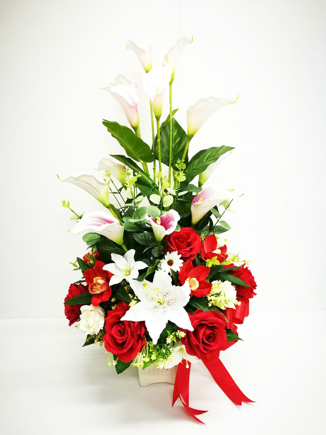 แจกันดอกไม้ประดิษฐ์ รหัส 3078