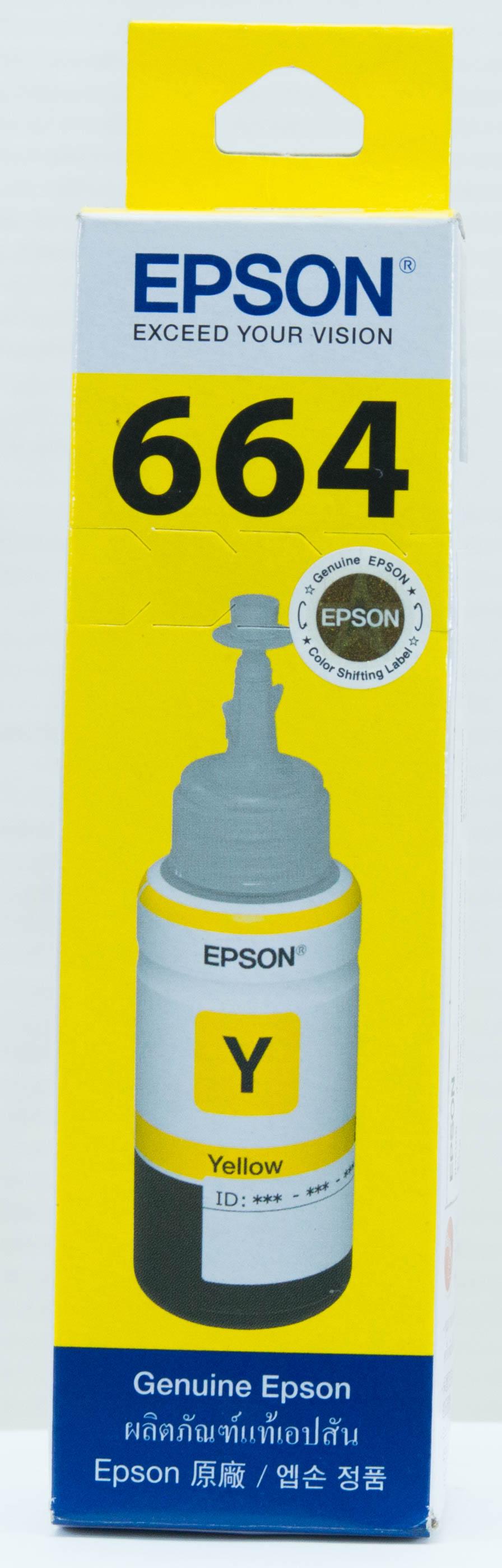 Epson หมึกเติม L-Series สีดำ รุ่น T6641 (Yellow)
