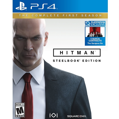 PS4: Hitman The Complete First Season - Steelbook Edition (Z2) [ส่งฟรี EMS]