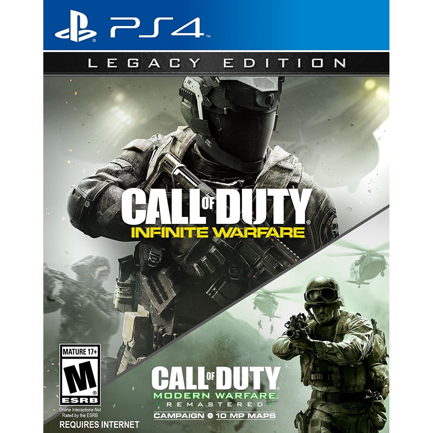 PS4: Call of Duty Infinite Warfare [Legacy Edition] (Z3) Required Internet / ต้องการ internet [สงฟรี EMS]