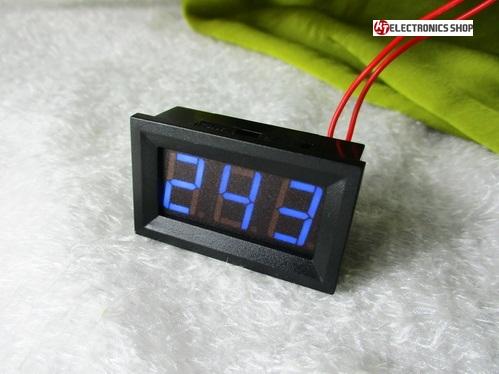 VOLT METER AC30-500V สีฟ้า