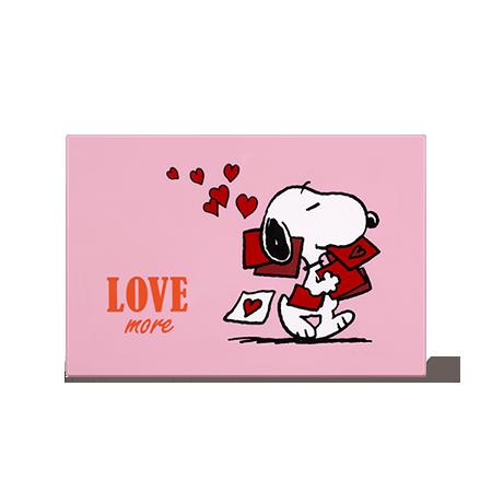 Innisfree x Snoopy My Palette X Snoopy [Medium] LTD 1P 마이 팔레트 X 스누피 [Medium] (Love more) พาเลทสนู๊ปี้ แบบแม่เหล็ก สามารถปรับเปลี่ยนแบ้นสีได้ตามชอบ